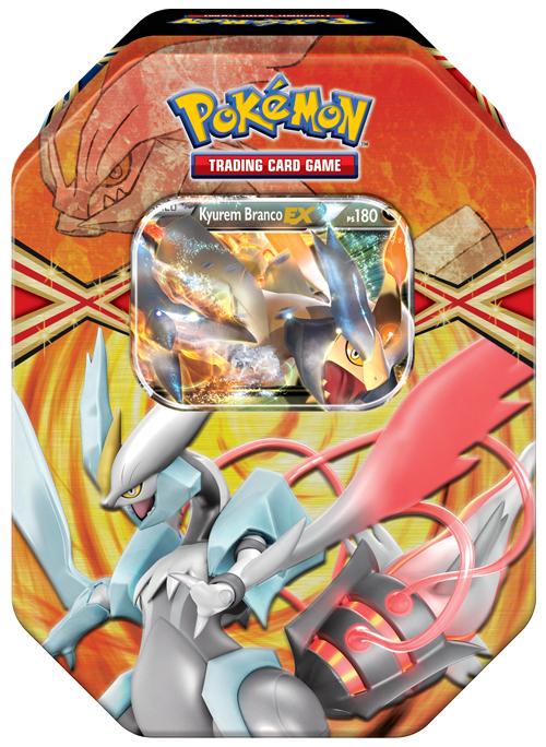 Novas Latas de Pokémon TCG