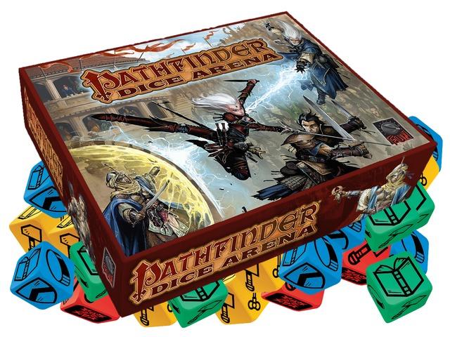 pathfinder dice arena