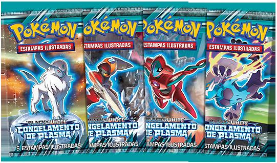 Novo Pokémon TCG: Black & White – Congelamento de Plasma