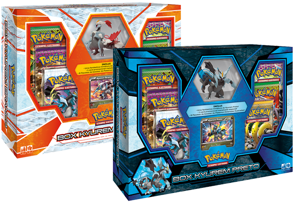 Pokemon TCG: Nova Box do Kyurem Branco e Kyurem Preto