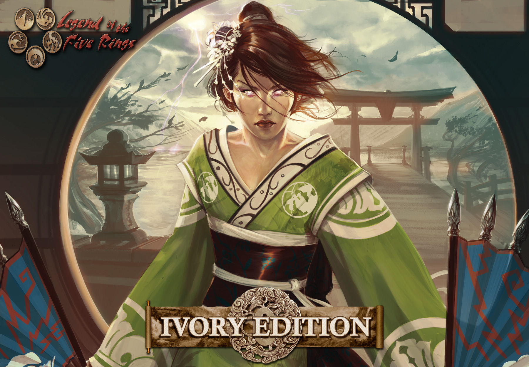 Lançamento para Legend of the 5 Rings: Ivory Edition