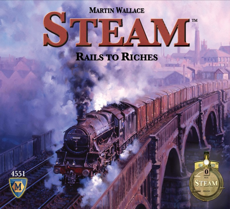Steam Map Expansion #4 da Mayfair Games