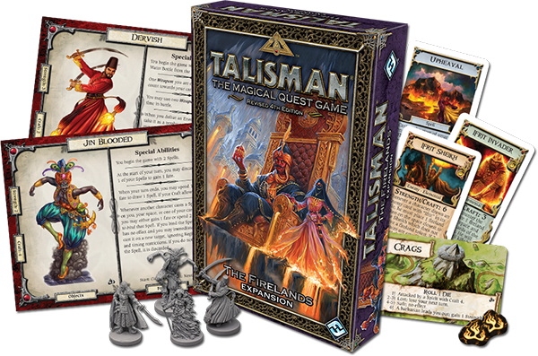 The Firelands-Talisman 4th Edition