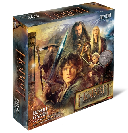 The Hobbit - The Desolation of Smaug Board Game