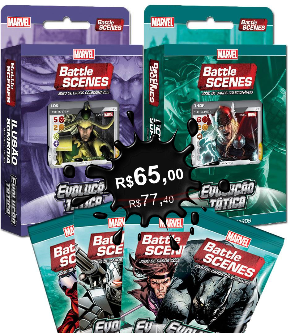 Marvel Battle Scenes Super Pack
