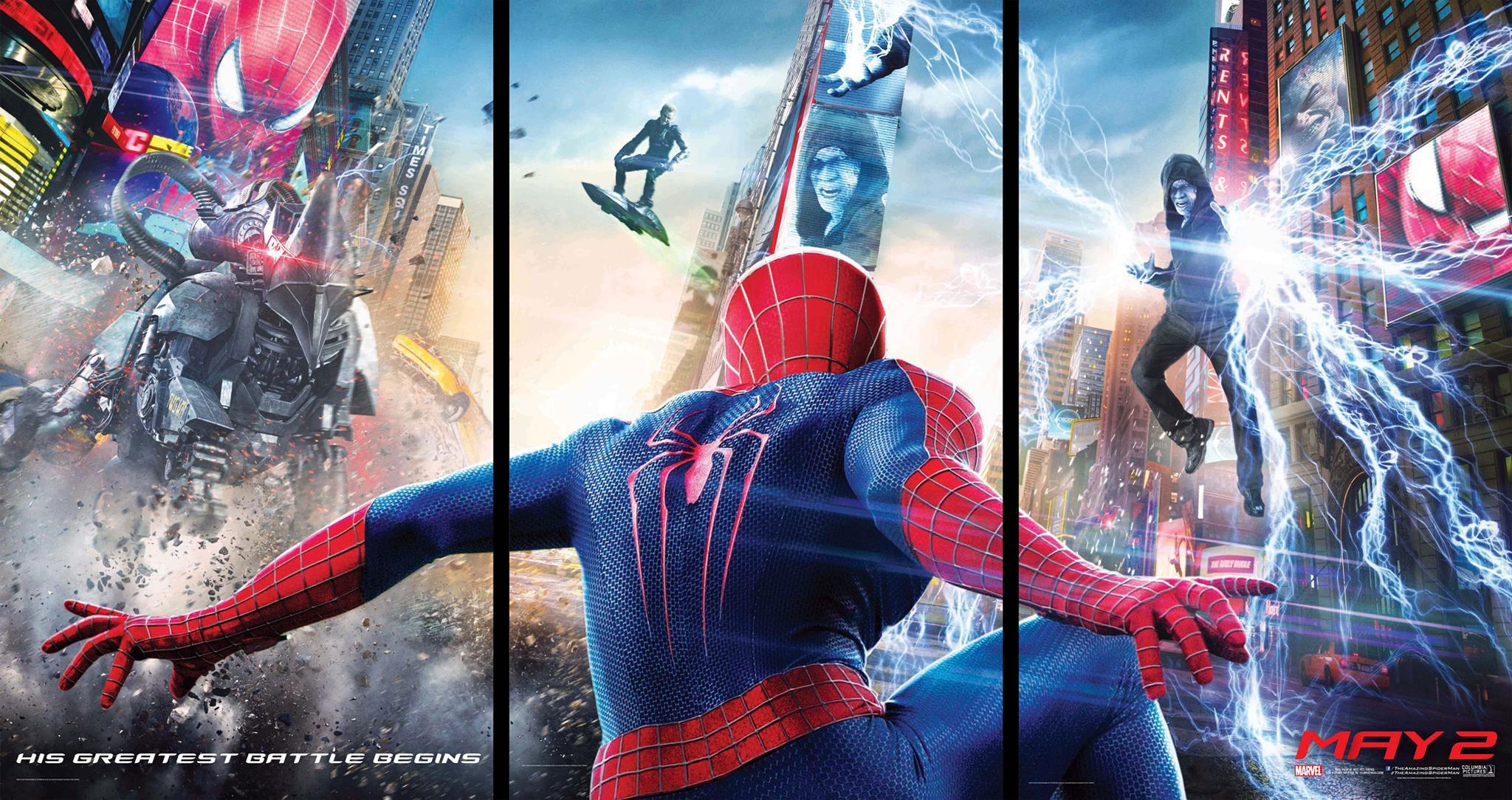 Novo Poster de Amazing Spider-Man 2