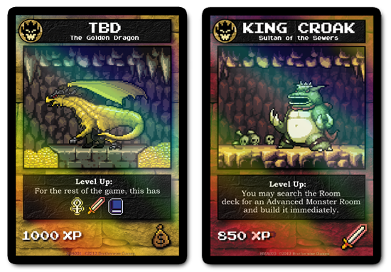 Expansão para o Card Game 8-bit Boss Monster