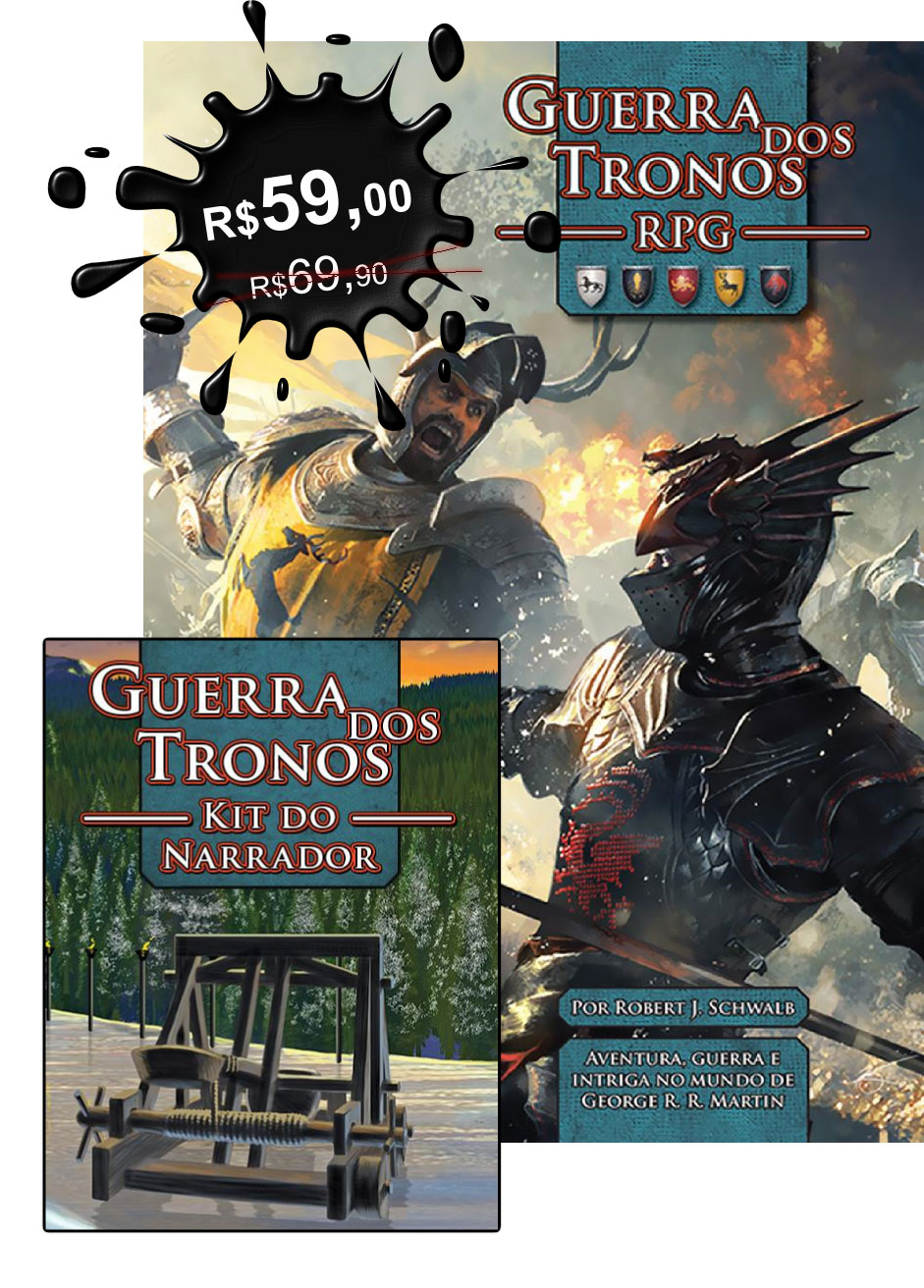 Guerra dos Tronos RPG + Kit do Narrador
