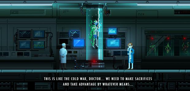 Paradise Lost, Game Indie em Pixel-Art Agora No OUYA