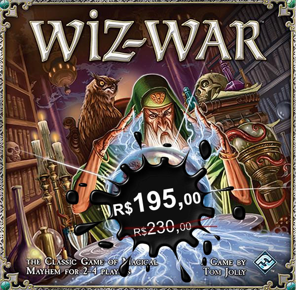 Board Game Wiz-War