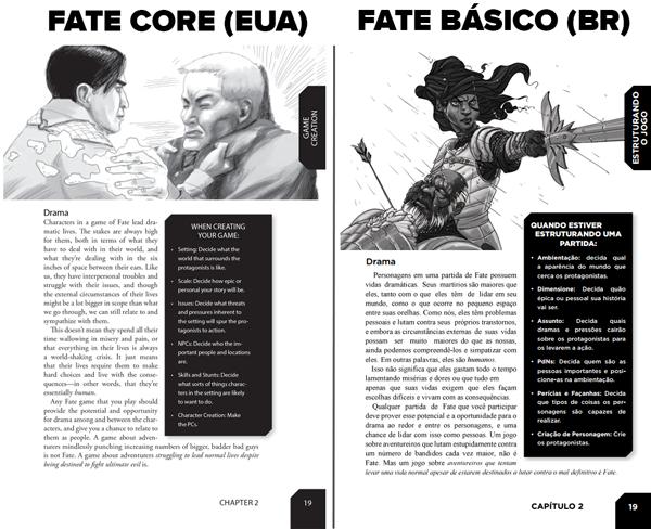 Fate RPG - Páginas Livro