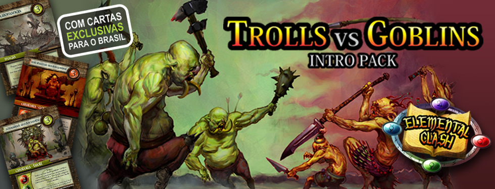 Elemental Clash: Trolls vs Goblins
