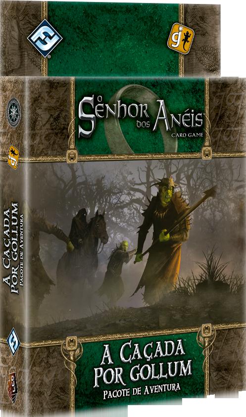 O Senhor dos Aneis Card Game - a caçada por Gollum