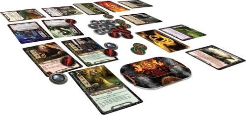 O Senhor dos Aneis card Game Componentes