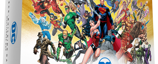 Cryptozoic e Warner Bros. Anunciam relançamento da DC Deck-Building Game Multiverse Box