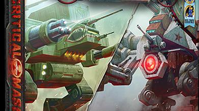 Board Game: Duelo de Robôs Gigantes em Critical Mass